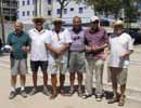 Our male petanca players